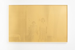 Anastasia Mina ! Theta, archival pigment print and screen-print on paper, one off / monotype, 66x104 cm, 2019